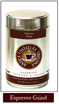 Antica Espresso Tin - Ground